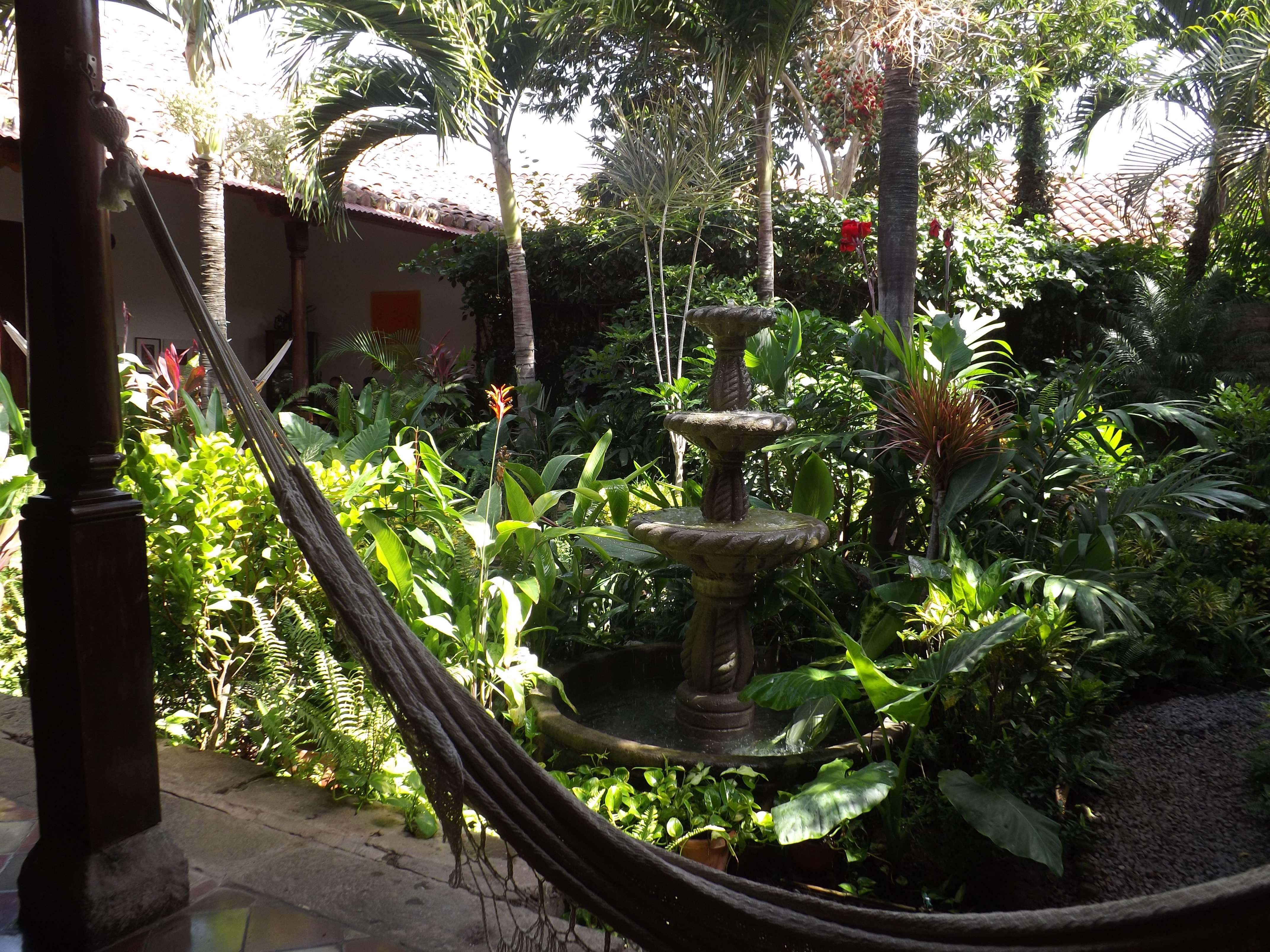 Garden Cafe Menu Granada